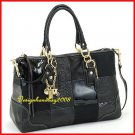 NEW WITH TAG LIMITED EDITION COACH HAMPTON PATCHWORK TONAL SATCHEL 12479 - $698