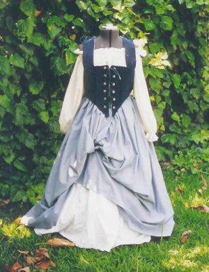 Renaissance LARP Wench Skirt Bodice Set Pirate Outfit Faire