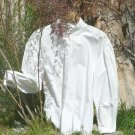 Victorian Cotton Blouse Garibaldi Style Button Up Civil War Shirt