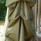 Taffeta Bustle Skirt Victorian Adjustable