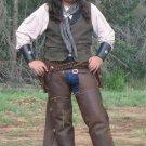 Western Cowboy Vest Laredo SASS Old West Waistcoat