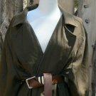 Wool Coat True Grit Movie Reproduction Mattie Ross Olive Coat