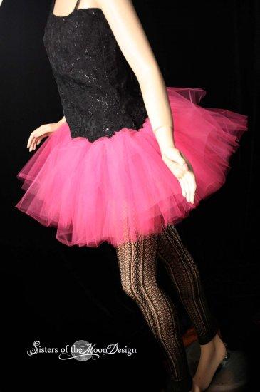 Hot pink adult dance tutu XLarge