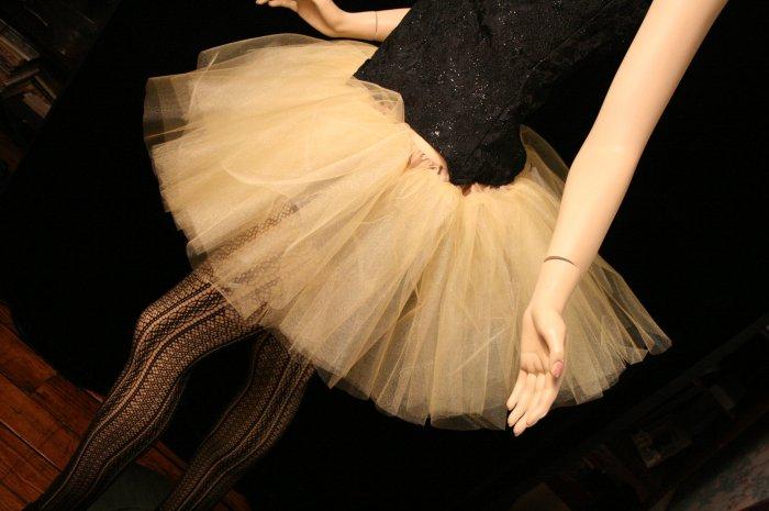 Golden gold adult dance tutu Large