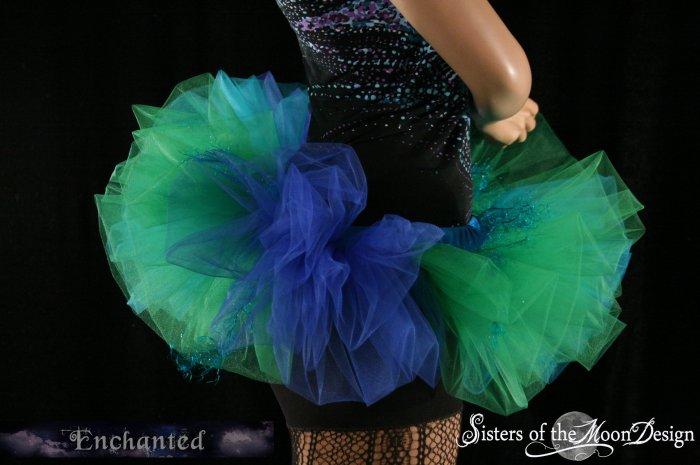 Mermaid Bubble tutu skirt Adult  Large