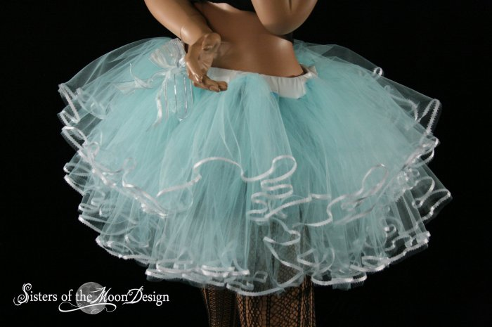 Alice and her pretty little frills adult tutu Large