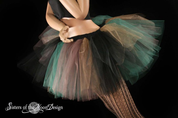 Camouflage Army camo Monster dance tutu Adult petticoat Large