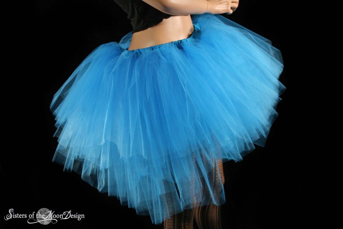 Small adult tutu skirt turquoise Ultra Ring Master huge poofy