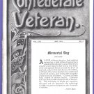 1914 Confederate Veteran Magazine Memorial Day Issue May 1914