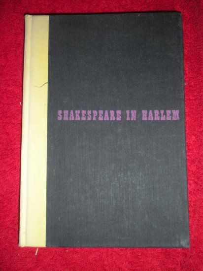 1947 3rd Printing Langston Hughes Shakespeare in Harlem NO DJ Knopf