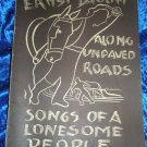 1944 Songs Ernst Bacon Along Unpaved Roads with A. Sotomayor Art