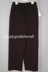 Dialogue Stretchweave Drawstring Pants Size 6 (Small)