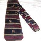Tommy Hilfiger crest motif tie necktie