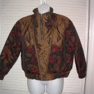 Andy Johns Womens Multi Retro Puffer Bomber Jacket 80s/90s PETITE MEDIUM