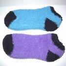 Fuzzy Warm Womens Slipper Socks Ladies Girls 2 pair