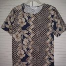 Simply Susan Ethnic Floral Print Shell size Medium Easily toteable!