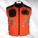 Xelemet Cordura Motorcycle Vest with Reflective Stripes