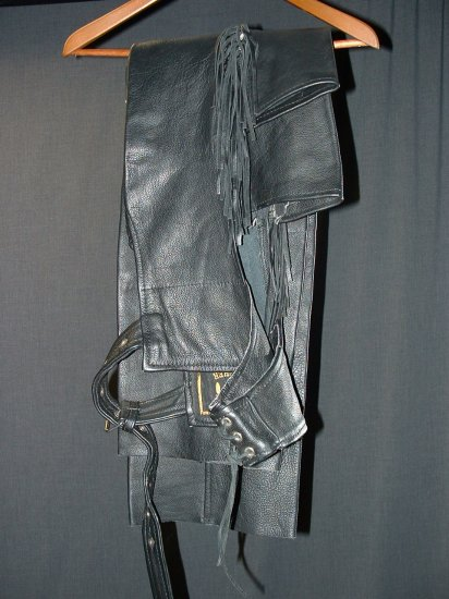 Barney's Leather Chaps