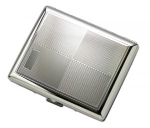 BRAND NEW 4 Square 2 Sided Metal Wallet