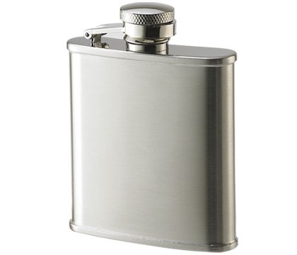 BRAND NEW Stainless Steel Pocket Sized Hip Flask 2 1/2 oz