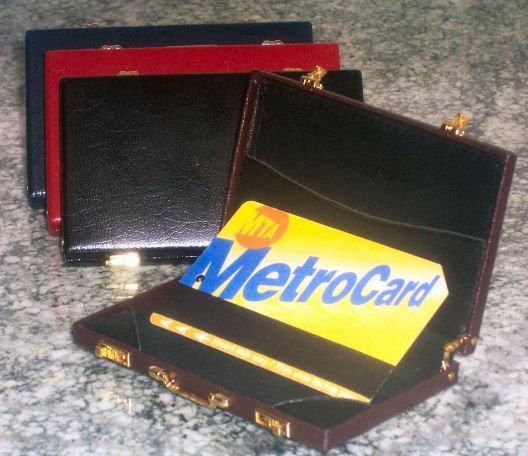 BRAND NEW Minie Card Case BROWN