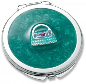 Mint Compact Mirror