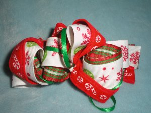 Christmas Loopy Bow