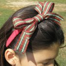 Holiday Plaid Boutique Headband