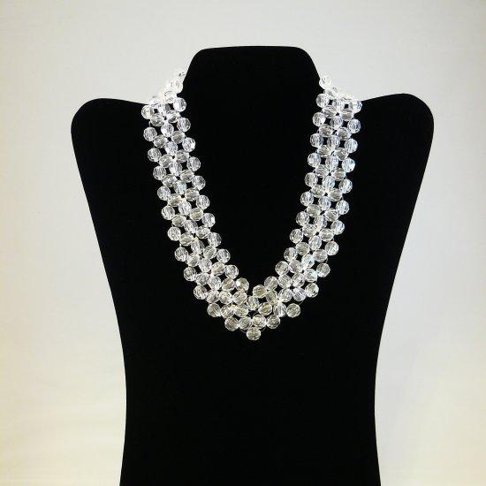 Crystal V-Shaped Necklace