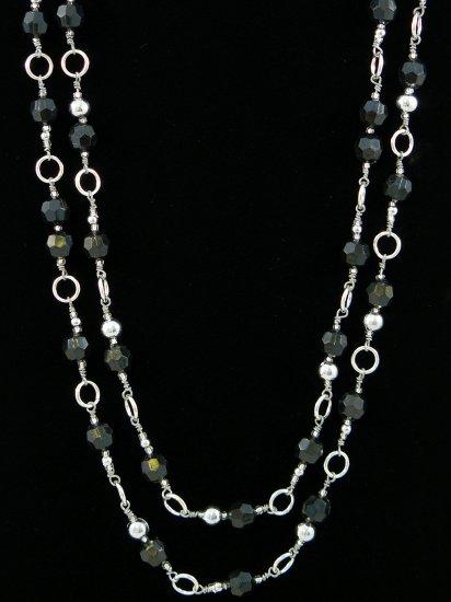 Multi-Strand Fashion Necklace