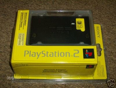Sony PS2 Playstation 2 Network Adapter (NEW) FREE S&H