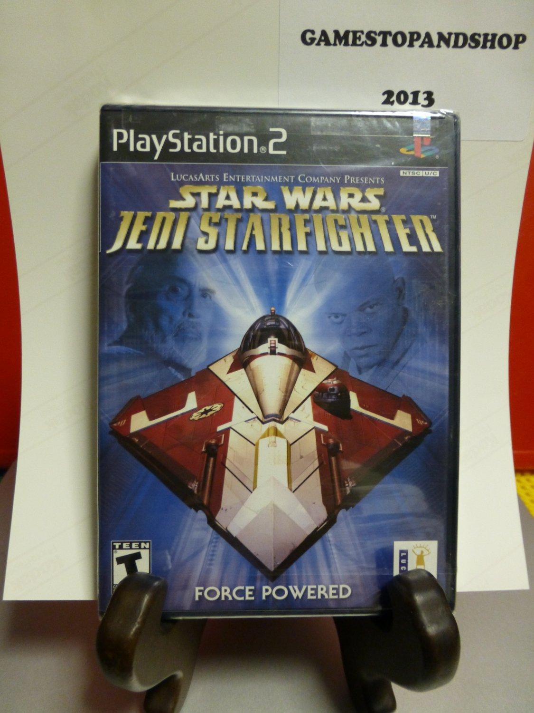 PS2 Playstation 2 Star Wars: Jedi Starfighter (NEW) FREE S&H