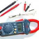 Clamp Meter AmpMeter Ammeter DMM w/Type K Thermocouple HVAC Tool
