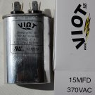 Cap 15 uFDCompressor Furnace Blower Fan  Motor Start Run Capacitor Oval 370V UL Listed