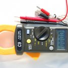 AC/DC True RMS Clamp-on Ammeter Volt Amp Ohm w/Capacitor Tester Type K Thermocoule