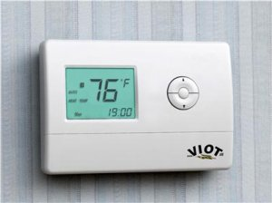 Heating Cooling Heat Pump Thermostat Digital 7-Day Weekly Program Energy Star