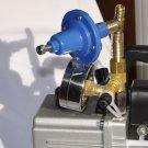 Vacuum Pump 6cfm regulator+Barbed Tee+gauge+adapter 1/2 Hose milker