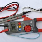 Clamp Meter Ammeter Ohm Volt Multimeter DMM+Capacitor Tester+K Thermocouple HVAC