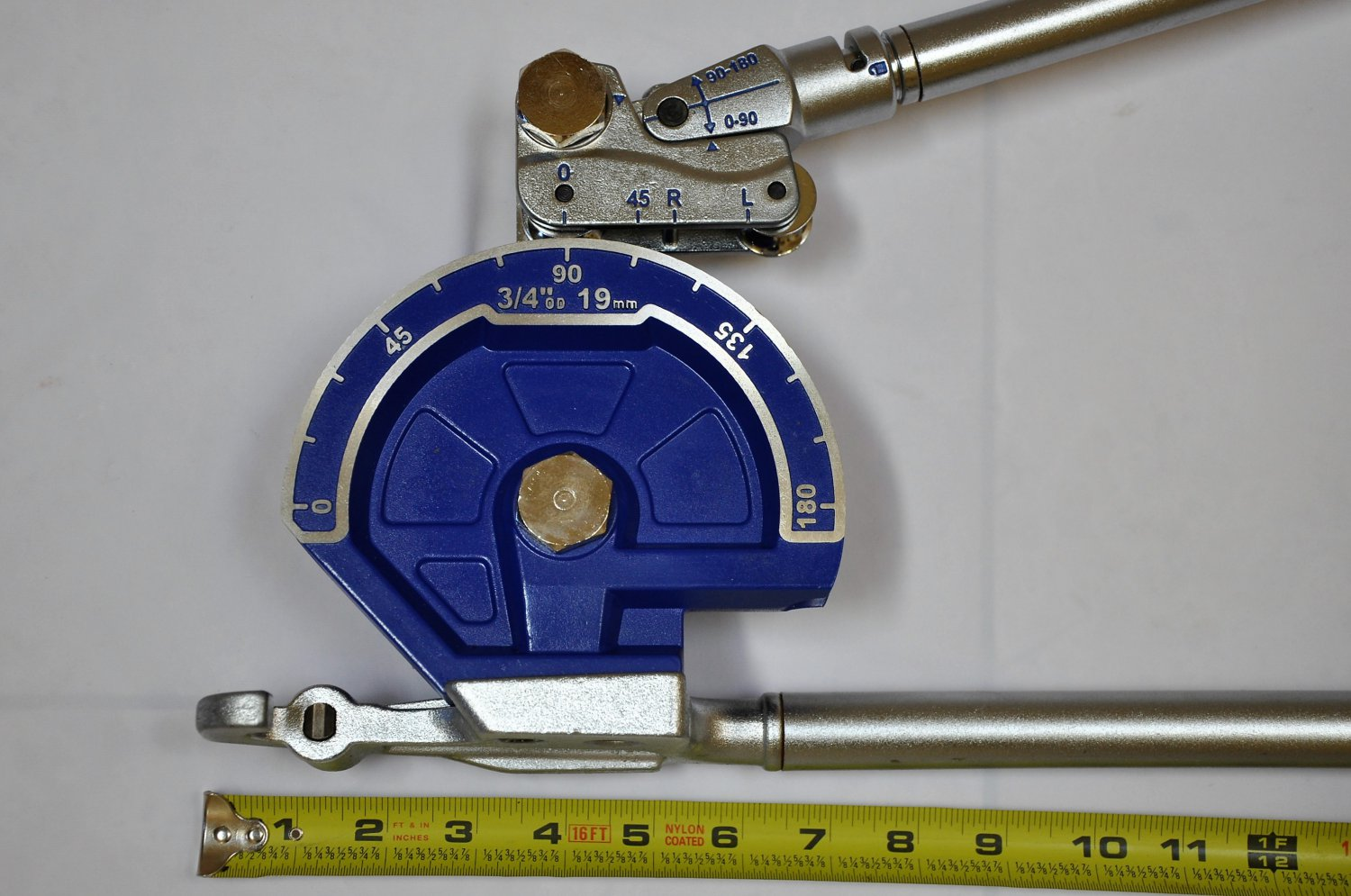 Large Tube pipe Bender:3/4 inch OD, Bend/turn 180 degrees professionally rust proof German