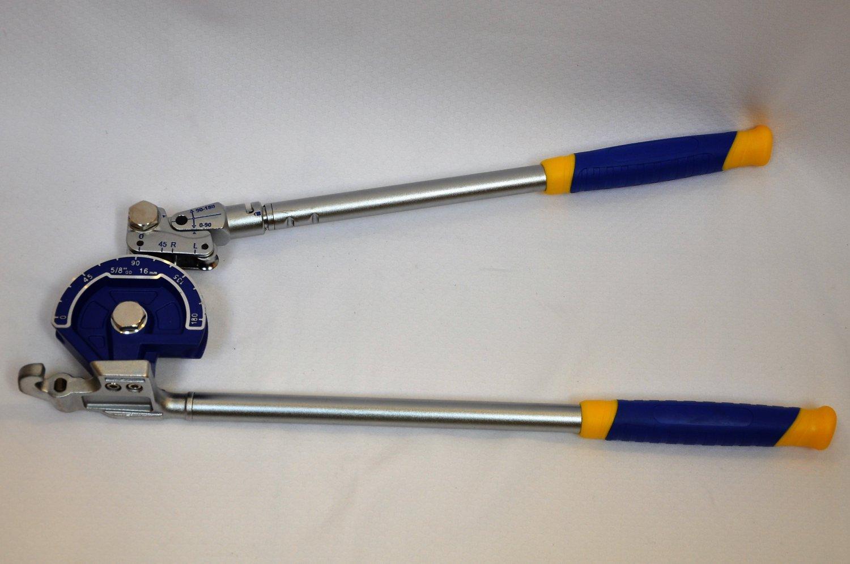 Large Tube Level Bender: 5/8 inch OD 3 inch Radius HVAC Plumbing Service Tool