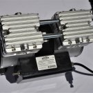 Twin piston oilfree oilless High Performance Vacuum Pump 5.5CFM 1/2 HP W/ Switch Built-in