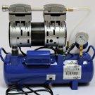 OIL-LESS VACUUM Pump System: automatic max vacuum pressure control, tank Regulator Gauge: