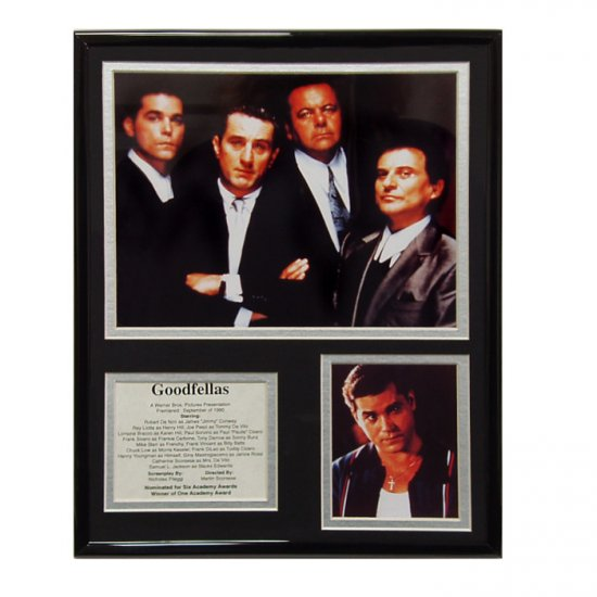 Goodfellas Limited Edition Collectible Movie Plaque