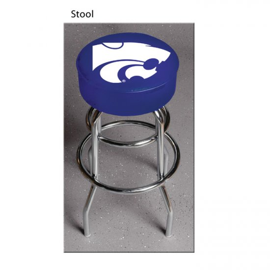 Officially Licensed Kansas State Wildcats Bar Stool