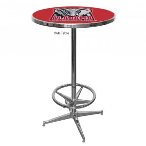 NCAA Alabama Crimson Tide Pub Table