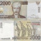 Indonesia banknote 2009 2000 rupiah UNC