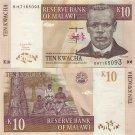 Malawi banknote 2004 10 kwacha UNC