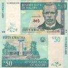 Malawi banknote 2007 50 kwacha UNC