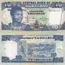 Swaziland banknote 2006 10 emalangeni UNC