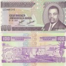 Burundi banknote 2007 100 francs UNC
